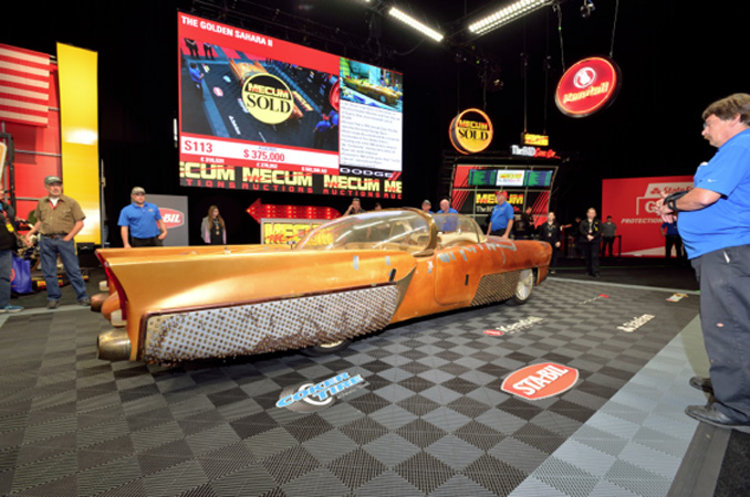 Mecum Spring Classic - The Golden Sahara II Jim Street's Legendary Custom Show Car (Lot S113)