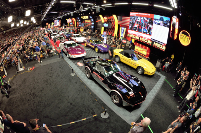 Mecum Spring Classic - The Keith Busse Corvette Pace Car Collection (Lot S91)