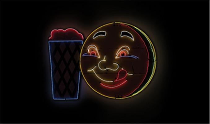 The Dingman Collection Lot 903 - Hamburger and Shake Neon Sign