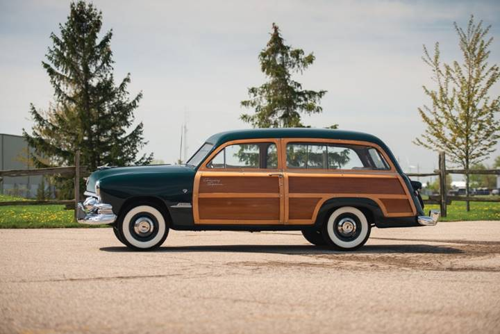 180525 The Dingman Collection Lot 933 - 1951 Ford Custom Country Squire