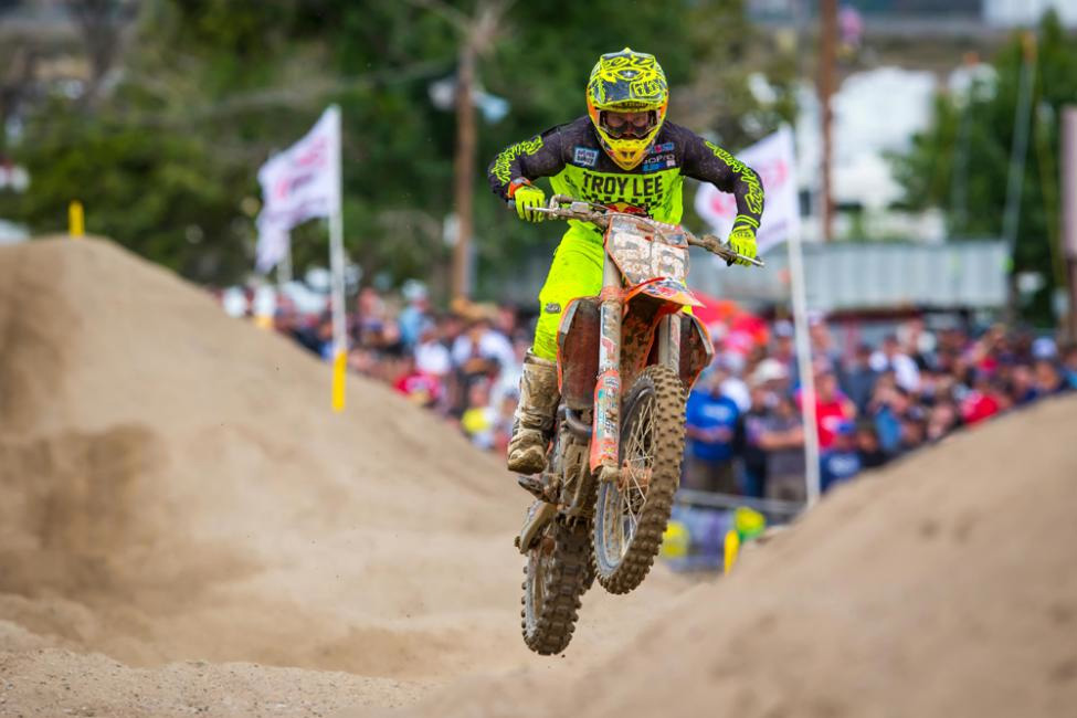 Glen Helen National - Alex Martin finished in the runner-up spot after consistent 3-3 moto scores. - Rich Shepherd