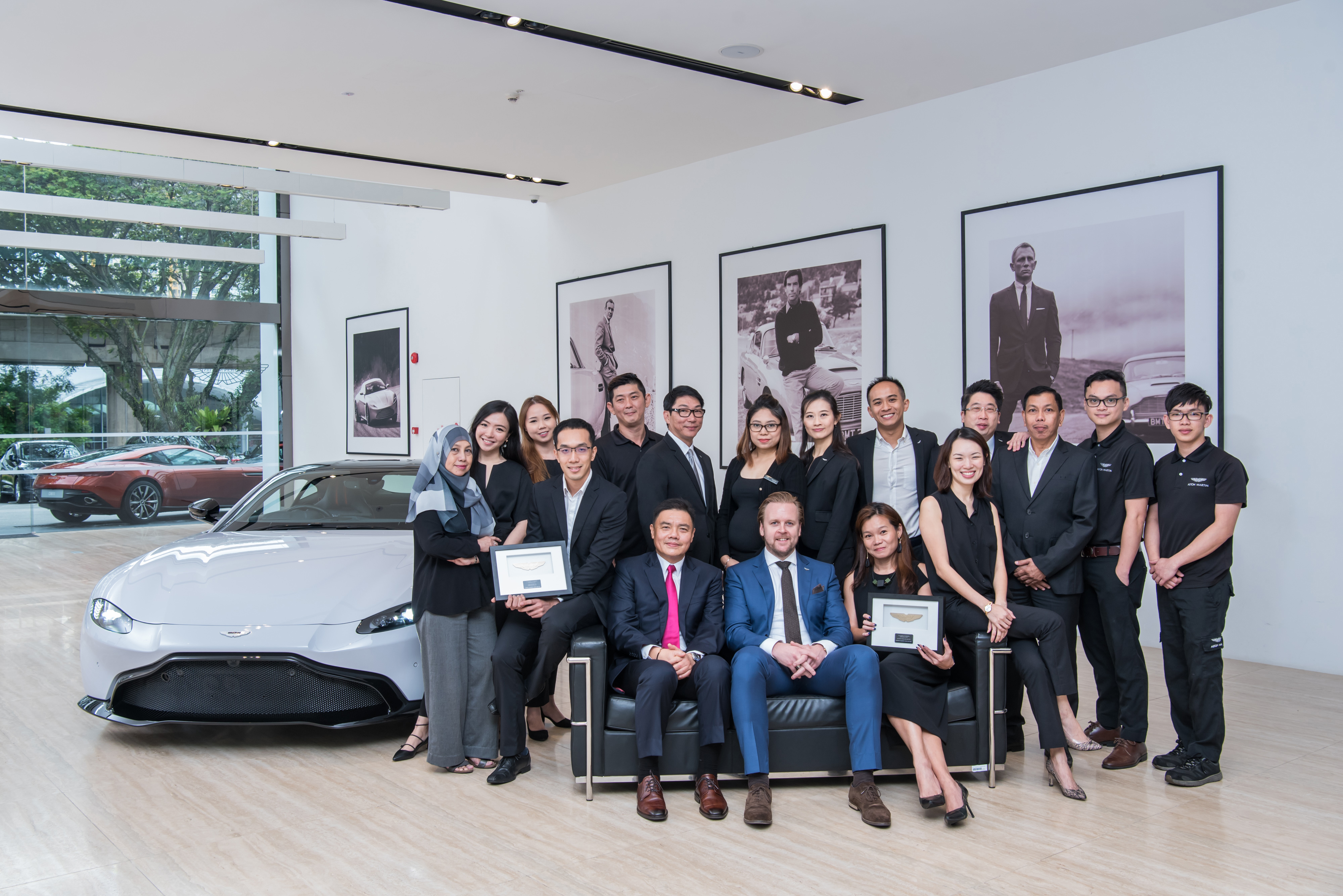 Aston Martin Singapore Wins Dealer of the Year 2017