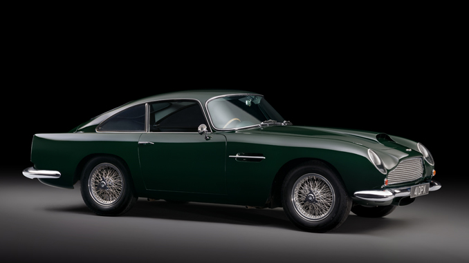 1961 Aston Martin DB4GT (Credit: Tim Scott Fluid Images © 2018 Courtesy of RM Sotheby's)
