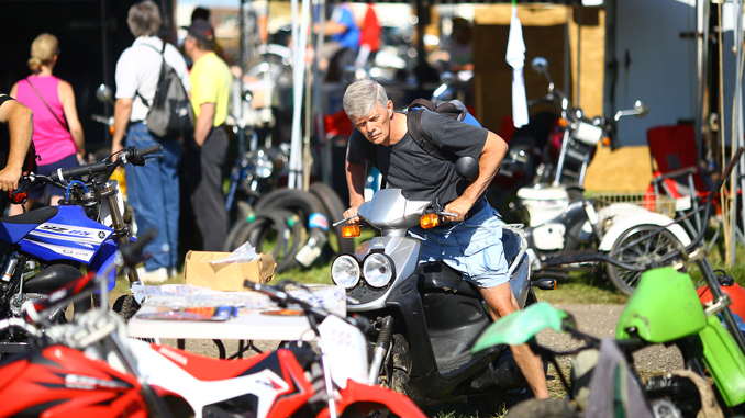 2017 AMA Vintage Motorcycle Days Swap Meet - Federal Motorcycle Transport