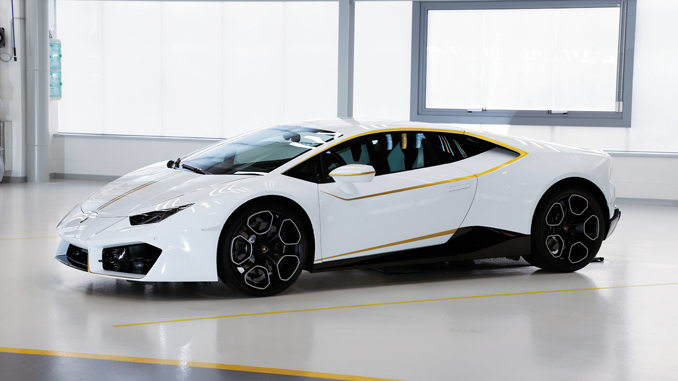 Rent Car Deluxe Acquires Pope Francisco's Lamborghini Huracan