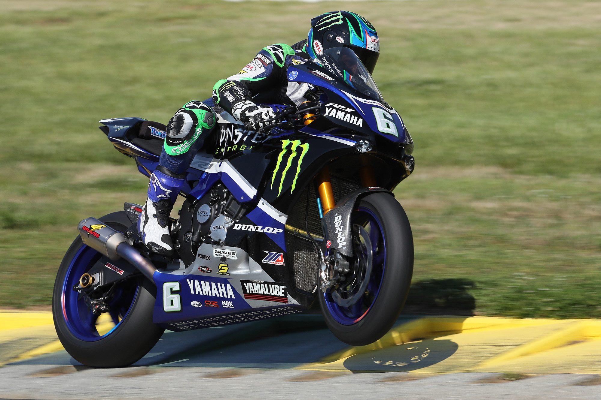 Cameron Beaubier led MotoAmerica Motul Superbike qualifying at VIRginia International Raceway on Friday.| Photo By Brian J. Nelson