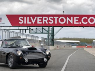 Aston MartinDB4 G.T. Continuation First customer track day-Silverstone