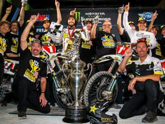 Double Supercross Championships - Rockstar Energy Husqvarna Factory Racing Team! (Photo_ Simon Cudby)