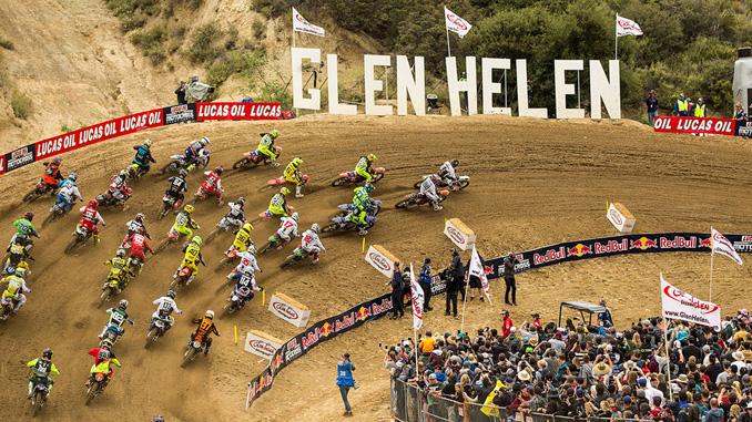 EVENT-start 250 moto 1 glen helen national pro motocross