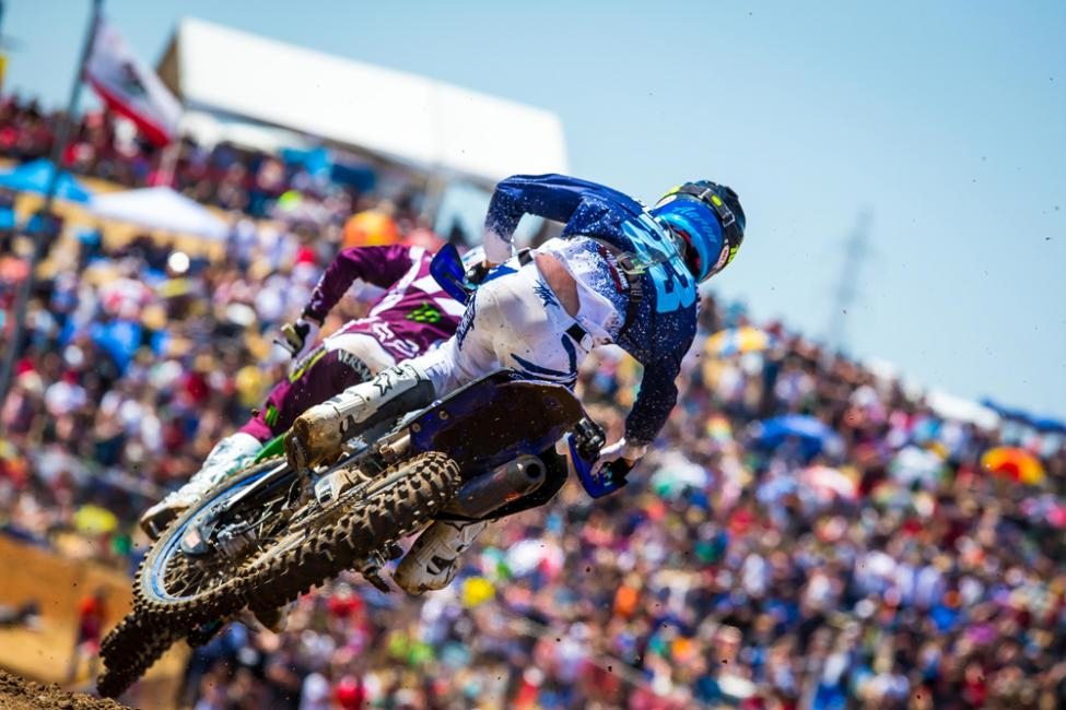 Hangtown - Aaron Plessinger was resilient and earned his second straight third-place finish