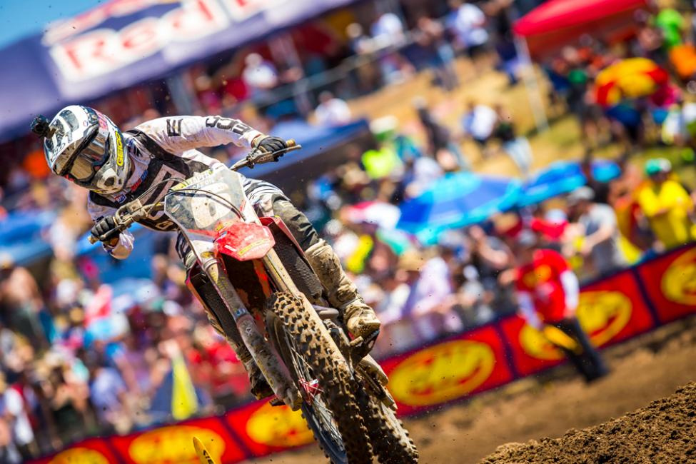 Hangtown - Jeremy Martin gave Osborne a fight but ultimately finished in the runner-up spot