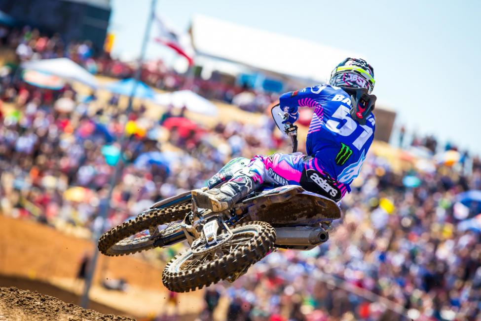 Hangtown - Justin Barcia earned his first podium finish since 2016 in third