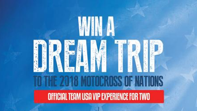 MX Sports Win a Dream Trip - VIP Experience