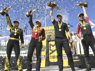 NHRA Southern Nationals Winner Circle