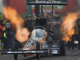 NHRA Top Fuel Clay Millican Sunday Topeka
