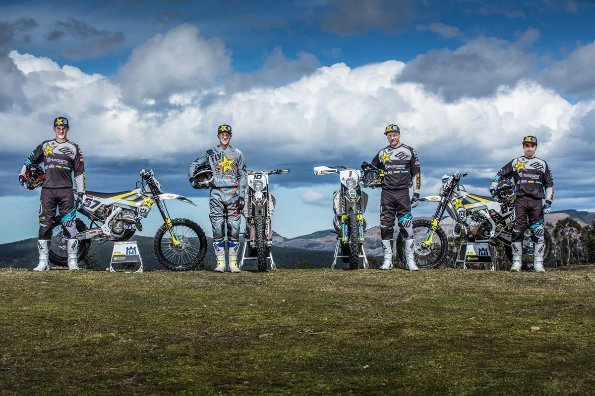 Rockstar Energy Husqvarna Factory Racing Enduro Team - World Enduro Super Series