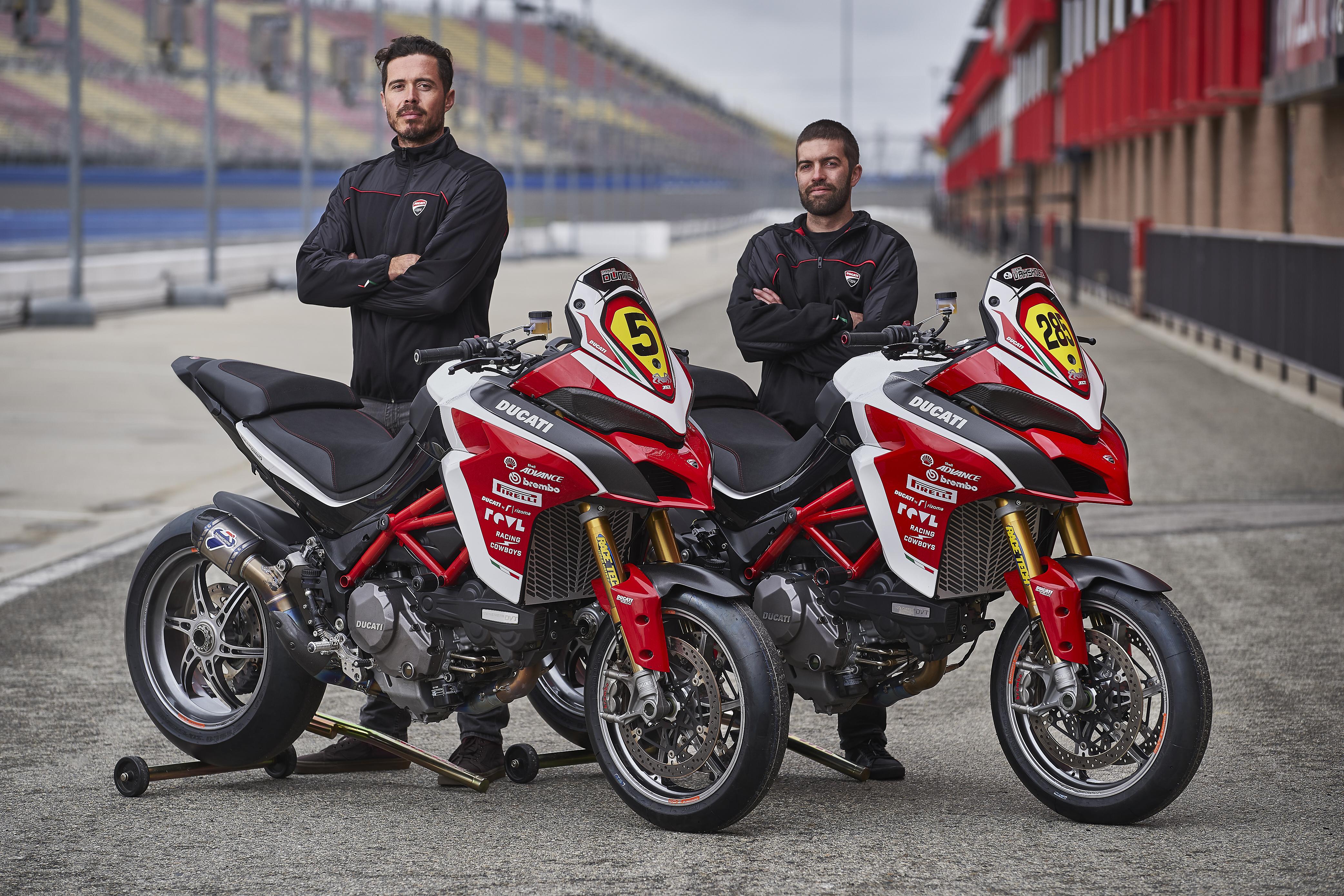 Spider Grips Ducati Pikes Peak Riders
