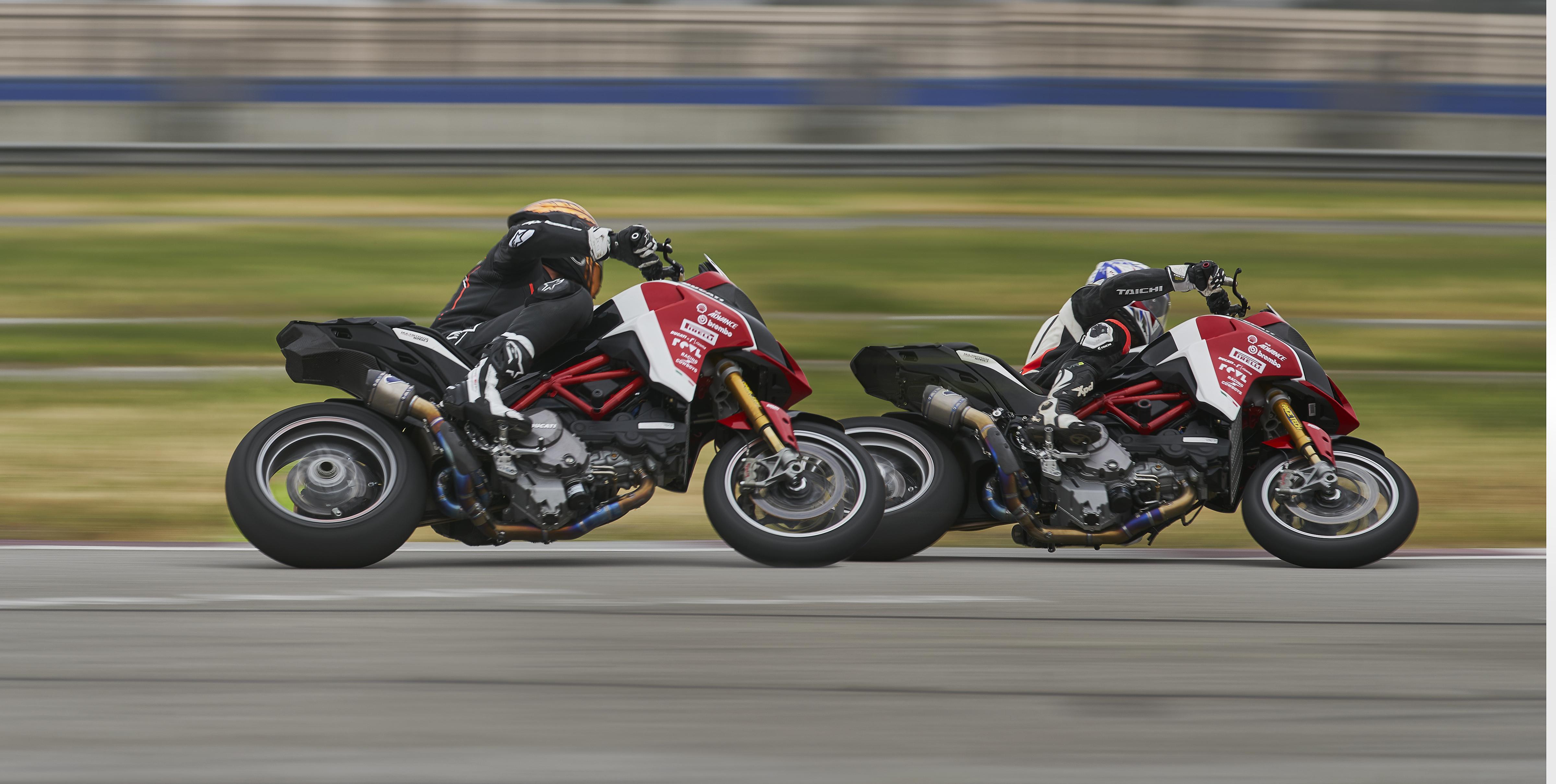Spider Grips Ducati Pikes Peak Track1 Practice