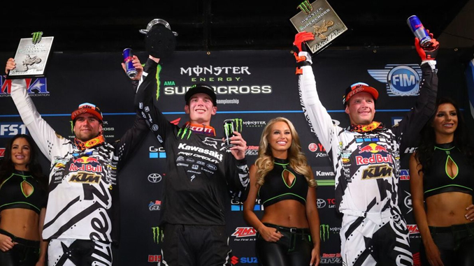 Troy Lee Designs / Red Bull / KTM Close Out Supercross Season With Double Podium