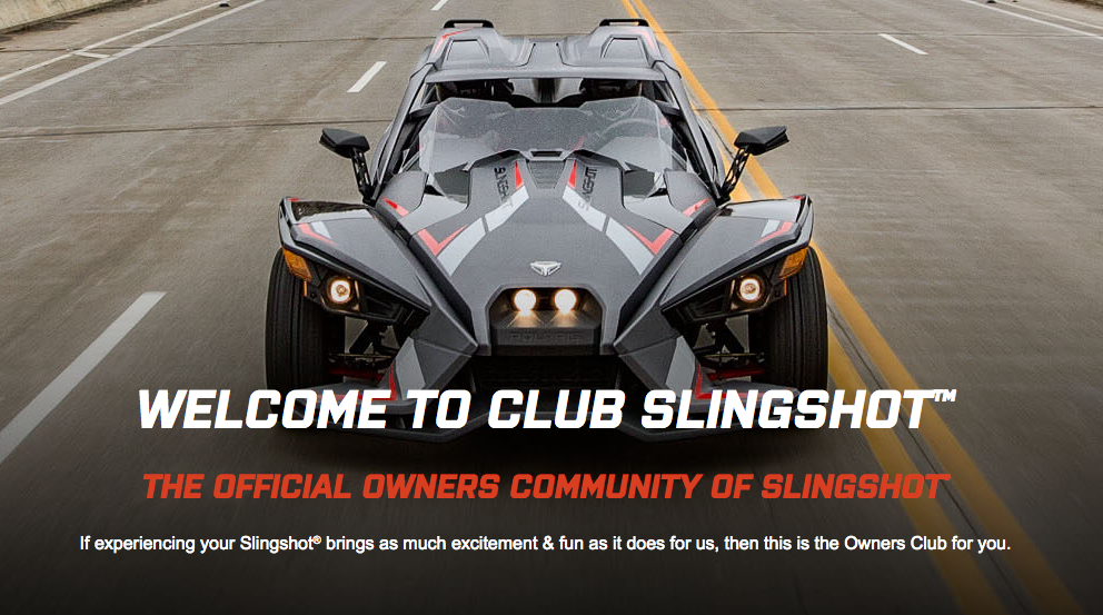 Welcome to Club Slingshot