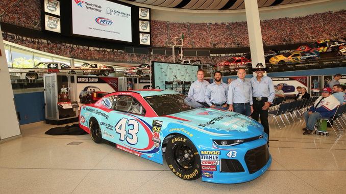 Richard Petty Motorsports and World Wide Technology Car Unveiling