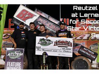 Aaron Reutzel wins at Lernerville