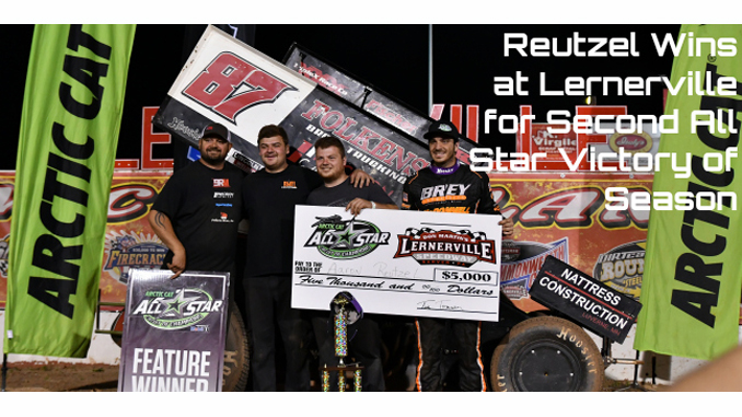 Aaron Reutzel wins at Lernerville