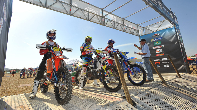 Members of the U.S. Club Team at the 2017 FIM International Six Days Enduro. Photo by Mark Kariya