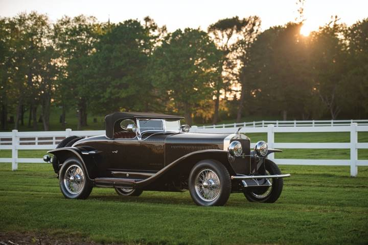 1927 Isotta Fraschini Tipo 8A S Roadster (Credit – Darin Schnabel © 2018 Courtesy of RM Sotheby's)