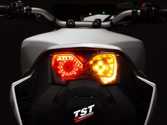 TST Industries releases their highly anticipated LED Integrated and Programmable Tail Light for the 2017+ Yamaha FZ-09 / MT-09.