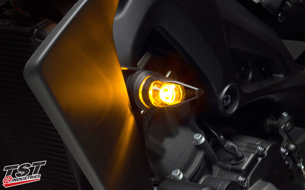 The MECH-GTR features a bright SMD style LED that provides ample light output.