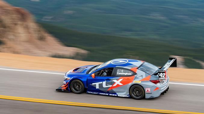 Cunningham Pikes Peak Acura TLX - Forgeline Motorsports
