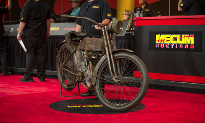 Mecum Las Vegas June - 1913 Harley-Davidson 9A 5-35 Single (Lot S156) at $88000