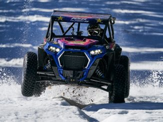 Professional off-road racer RJ Anderson puts the terrain-dominating RZR XP Turbo S