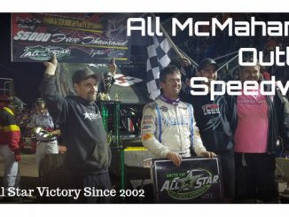 aul McMahan scores first All Star win since 2002 during visit to Outlaw Speedway