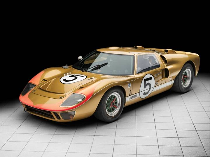 The 1966 Ford GT40 set for RM Sotheby's Monterey - © Courtesy of RM Sotheby's