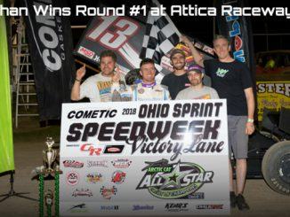 Paul McMahan wins at Attica to open Cometic Gasket Ohio Sprint Speedweek