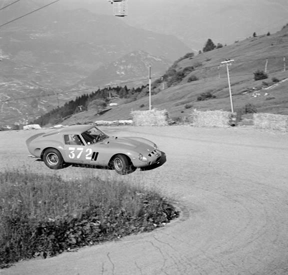 RM Sotheby's - Monterey - Edoardo Lualdi-Gabardi drives the 250 GTO 1962 Trento-Bondone hill climb