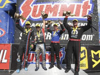 Summit Racing Equipment NHRA Nationals Winner Circle