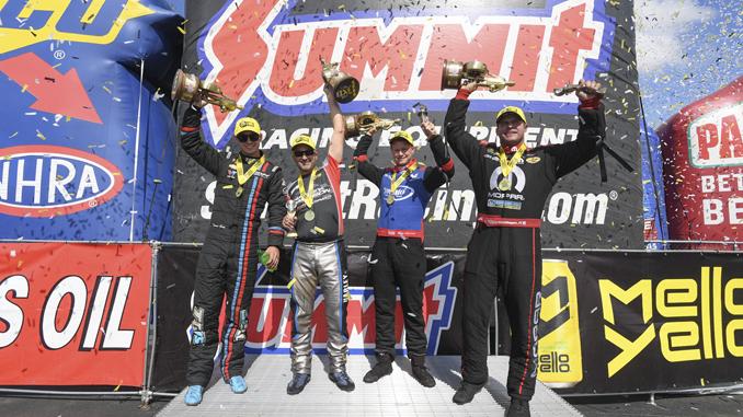Summit Racing Equipment NHRA Nationals Winner Circle