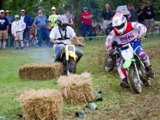2017 AMA Vintage Motorcycle Days - Exhibition competition - Pit bike races