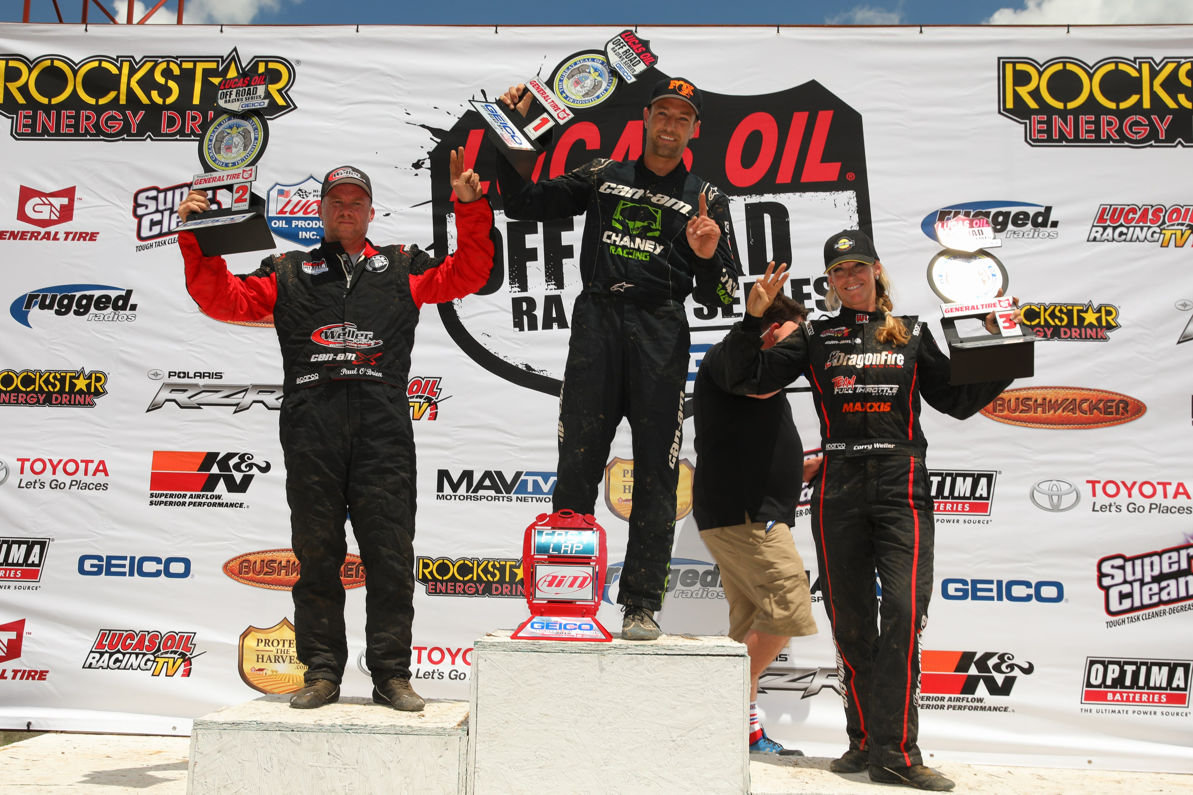 Can-Am - Podium SWEEP-LOORRS