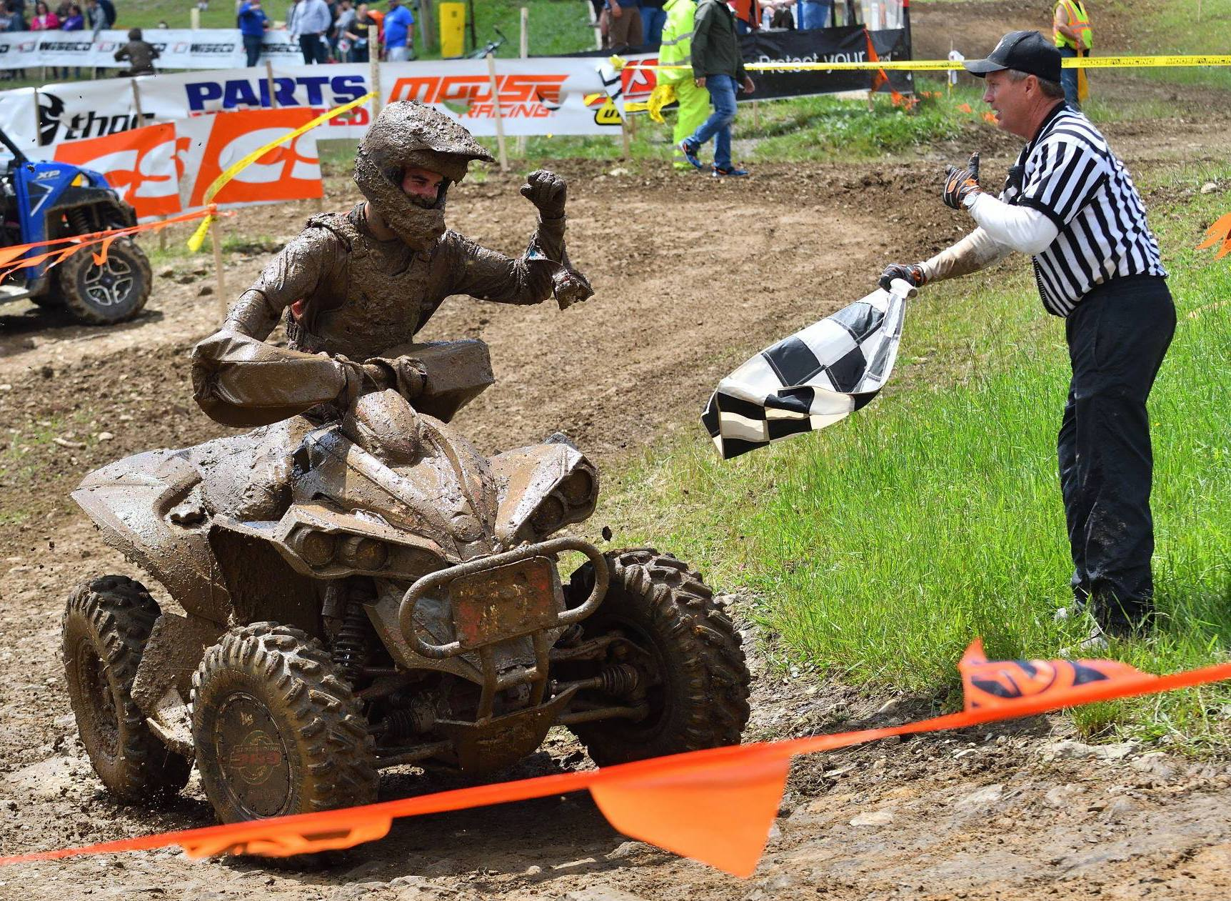 BRP - Can-Am - Wolfe L Wins Snow GNCC