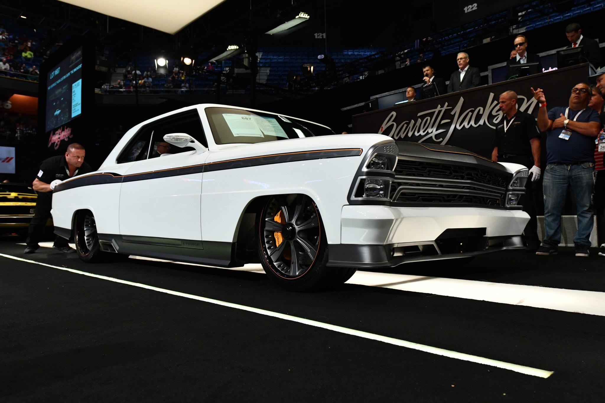 Barrett-Jackson Northeast Auction - A 1967 Chevy Nova