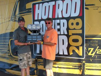 Callaway Cars / Mothers Win Hot Rod Power Tour Sponsor Shootout - jim trophy