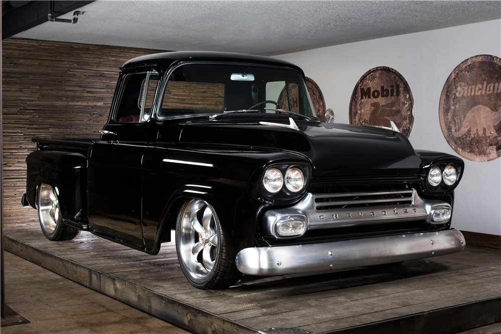 1959 Chevrolet Apache Custom Pickup (Lot #696.1) from the Ashton Collection