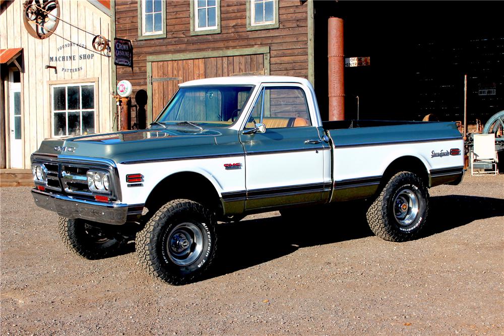 1972 GMC Sierra Grande (Lot #751) - Barrett-Jackson