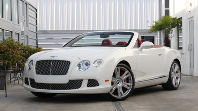 2013 Bentley Continental GTC 6.0L-567 HP 8900 Miles (Lot S78.1) Mecum Portland