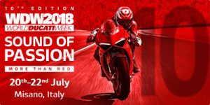 Ducati - Sound of Passion banner - Misano Italy