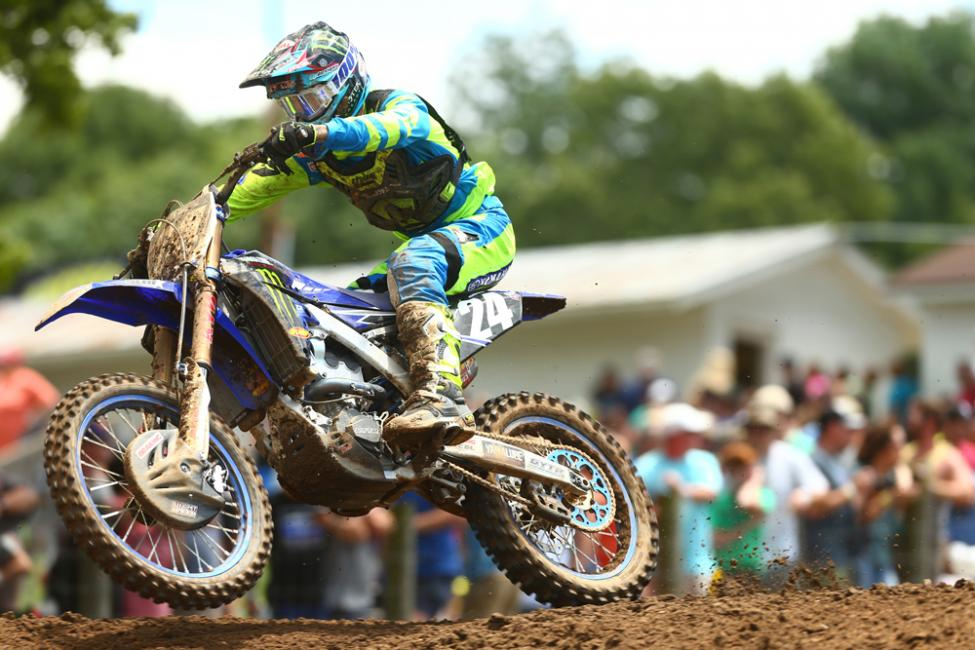 Ferrandis earned an overall podium result in just his second start this season - Tennessee National
